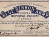 Janet's Blue Ribbon Army Card