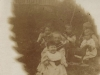 Earliest Photo of Munro Children - John holding Mary, Duncan Bill & Ann (with two unknown children upper left)